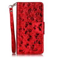 LuxButterfly knížkové puzdro pre LG X Style - červené
