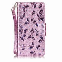 LuxButterfly knížkové puzdro pre LG X Style - ružové
