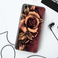 True gélový obal pre mobil LG X Style - ruže