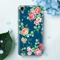 True gélový obal pre mobil LG X Style - kvetiny
