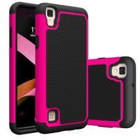 GT hybridný odolný obal pre mobil LG X Style - rose