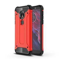 Armory hybridný odolný kryt na Motorola Moto E5 a G6 Play - červený