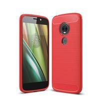 Carb odolný gélový obal na Motorola Moto E5 Play - červené
