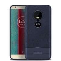 Litch odolný gélový kryt na Motorola Moto E5 Play - tmavomodrý
