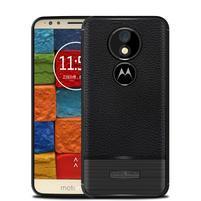Litcher odolný silikónový obal na Motorola Moto E5 Plus - čierny