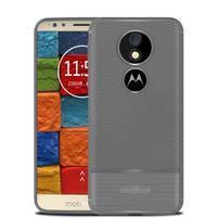 Litcher odolný silikónový obal na Motorola Moto E5 Plus - sivý