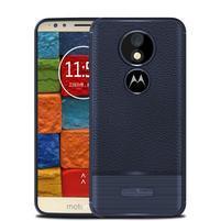 Litcher odolný silikónový obal na Motorola Moto E5 Plus - modrý