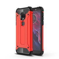 Armory odolný hybridný obal na Motorola Moto E5 Plus - červený
