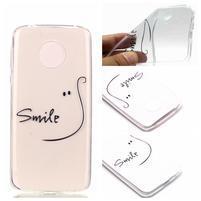 Emotive gélový obal na mobil Motorola Moto G6 Play - smile