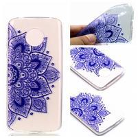 Emotive gélový obal na mobil Motorola Moto G6 Play - henna