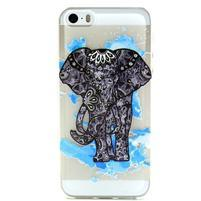 Fun gélový obal na iPhone 5s a iPhone 5 -slon