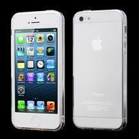 Transparentný gélový obal na iPhone 5 / 5s