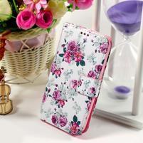 Puzdro na mobil Samsung Galaxy Core Prime - květiny
