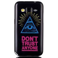 Gélový kryt pre mobil Samsung Galaxy Core Prime - oko