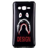 Jelly gélový obal pre mobil Samsung Galaxy Grand Prime - monster