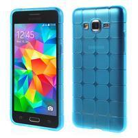 Square gélový obal na Samsung Galaxy Grand Prime - modrý
