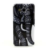 Gélový kryt pre Samsung Grand Prime - slon