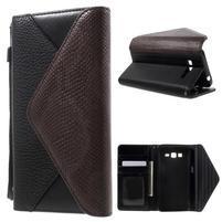 Writes elegantné puzdro pre Samsung Galaxy Grand Prime - čierne