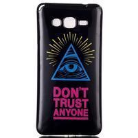 Jelly gélový obal pre mobil Samsung Galaxy Grand Prime - oko