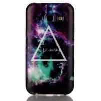 Gélový obal pre mobil Samsung Galaxy J5 - triangle