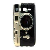 Stylový gélový kryt na Samsung Galaxy J5 -  retro foťák