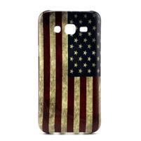 Stylový gélový kryt na Samsung Galaxy J5 -  US vlajka