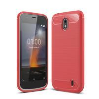 Carbo odolný obal na mobil Nokia 1 - červený