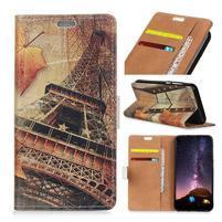 Patty peňaženkové puzdro na mobil Nokia 2 - Eiffelova veža