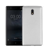 CarboSoft gélový obal na Nokia 3 - strieborný