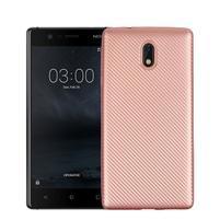 CarboSoft gélový obal na Nokia 3 - ružovozlatá