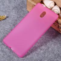 Matný gélový obal na Nokia 3 - rose