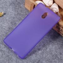 Matný gélový obal na Nokia 3 - fialový