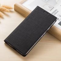 Klopové PU kožené puzdro na mobil Nokia 3310 (2017) - čierne