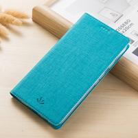 Klopové PU kožené puzdro na mobil Nokia 3310 (2017) - modré