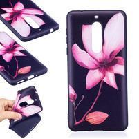 Patt gélový obal na Nokia 5 - ružový kvet