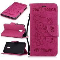 BadBeer peňaženkové puzdro pre Nokia 6 - rose