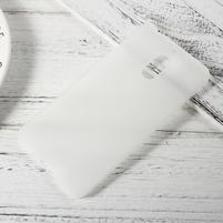 Matný gélový obal pre mobil Nokia 6 - transparentný