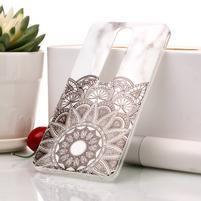 Marble silikónový kryt na mobil Nokia 6.1 - mandala