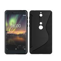 S-line silikónový kryt na mobil Nokia 6.1 - čierny