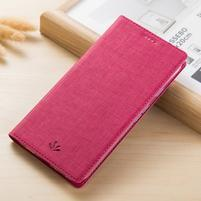 Leathy PU kožené klopové puzdro na mobil Nokia 8 a Nokia 9 - rose