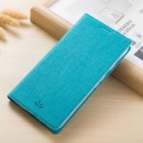 Leathy PU kožené klopové puzdro na mobil Nokia 8 a Nokia 9 - modré