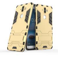 Defender odolný obal na Nokia 8 Sirocco - zlatý