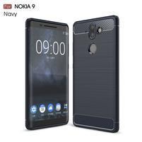 Carbo odolný obal na mobil Nokia 8 Sirocco - tmavomodrý