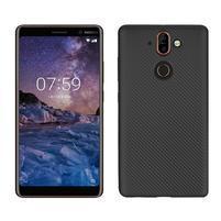 Carbon gélový obal na mobil Nokia 8 Sirocco - čierny