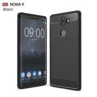 Carbo odolný obal na mobil Nokia 8 Sirocco - čierny