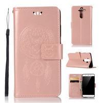 Dream PU kožené puzdro na mobil Nokia 8 Sirocco - rosegold