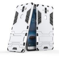 Defender odolný obal na Nokia 8 Sirocco - strieborný