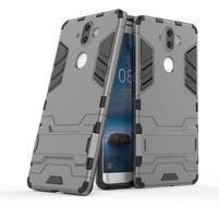 Defender odolný obal na Nokia 8 Sirocco - sivý