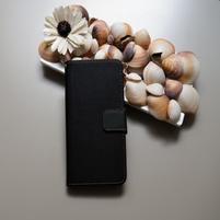 Duocolor PU kožené puzdro na mobil Nubia Z11 - čierne/sivé