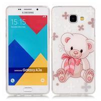 Nicis gélový obal pre mobil Samsung Galaxy A3 (2016) - medvídek